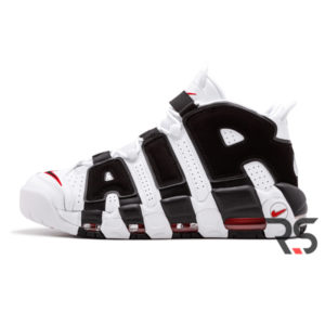 Кроссовки Nike Air More Uptempo «White-Black»