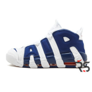 Кроссовки Nike Air More Uptempo 96 «White-Blue»