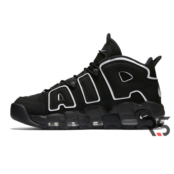 "b8bac75c Мужские кроссовки Nike Air More Uptempo ""Black/White"""