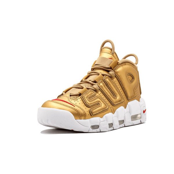 Кроссовки Nike Air More Uptempo Supreme «Gold»