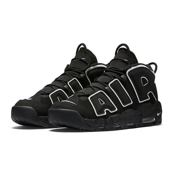 Кроссовки Nike Air More Uptempo 96 «Black White» 9d68942e098c9