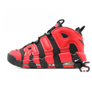 Кроссовки Nike Air More Uptempo «Black/Red»