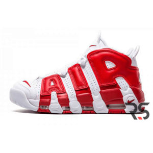 Кроссовки Nike Air More Uptempo «White/Red»