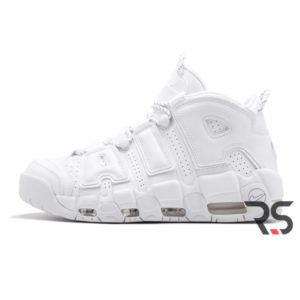 Кроссовки Nike Air More Uptempo «Triple White»