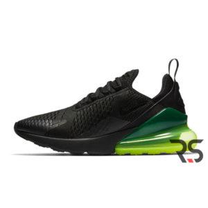Кроссовки Nike Air Max 270 «Black/Green»