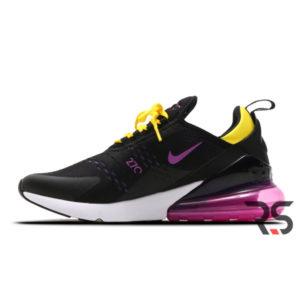 Кроссовки Nike Air Max 270 «Black/Hyper Magenta»
