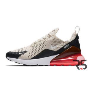 Кроссовки Nike Air Max 270 «Light Bone/Hot Punch/Black»