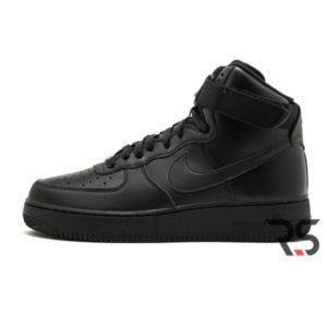 Кроссовки Nike Air Force 1 High «Black»
