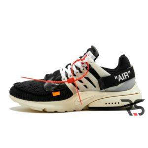 Кроссовки Off White x Nike Air Presto «Black»