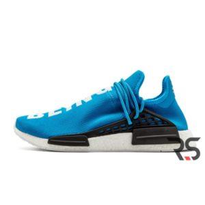 Кроссовки Adidas NMD Human Race «Blue/White»