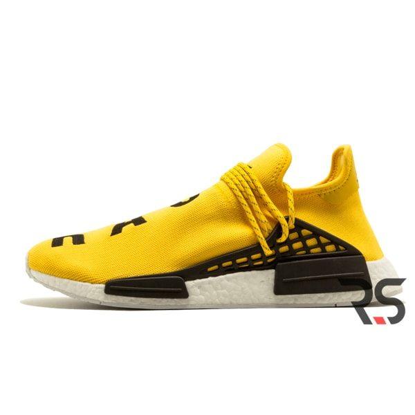Кроссовки Adidas NMD Human Race «Yellow»