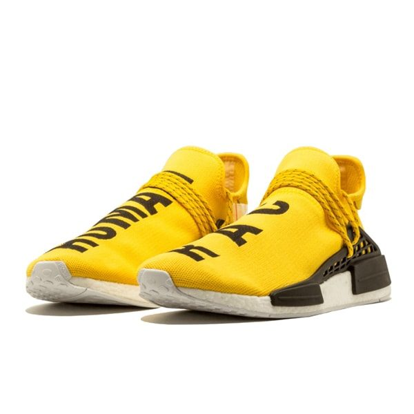 Кроссовки Adidas NMD Human Race «Yellow»