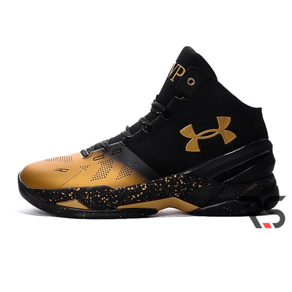 Кроссовки Under Armour Curry 2 MVP «Black Gold»