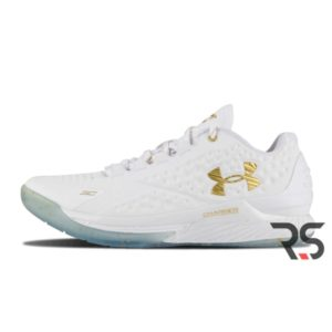 """Кроссовки Under Armour Curry 1 low MVP """"White gold"""""""