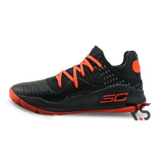 """Кроссовки Under Armour Curry 4 Low """"Black/red"""""""