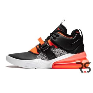 Кроссовки Nike Air Force 270 «Black/Orange»