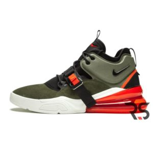 Кроссовки Nike Air Force 270 «Green/White»