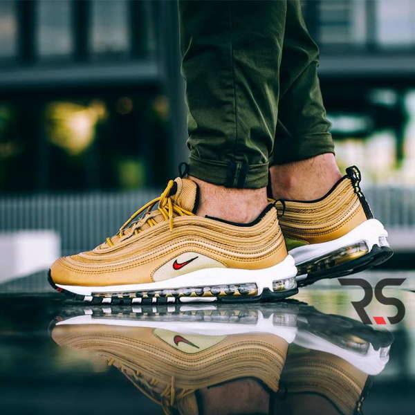 Кроссовки Nike Air Max 97 Metallic Gold «Italy»