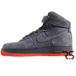 Кроссовки Nike Air Force 1 Winter «Gray/Red»
