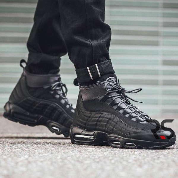 Кроссовки Nike Air Max 95 SneakerBoot «Black» купить Украина  Rovno ... cebec2b794b