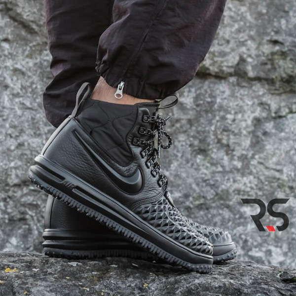 d5215e98 Кроссовки Nike Lunar Force 1 Duckboot 17 «Black» купить Украина ...