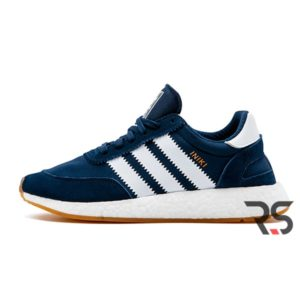 Кроссовки Adidas Iniki Runner «Blue/White»