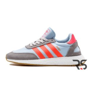 Кроссовки Adidas Iniki Runner «Grey/Turbo Red»