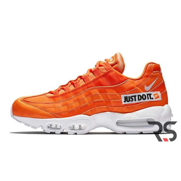 fa7ba4eb Кроссовки Nike Air Max 95 «Just Do It Pack Orange»   Rovno-Store.com