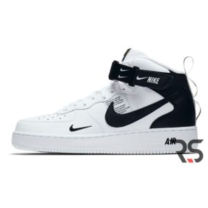 Кроссовки Nike Air Force 1 07 Mid Lv8 «White/Black»