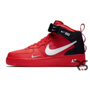 Кроссовки Nike Air Force 1 07 Mid Lv8 «Red»