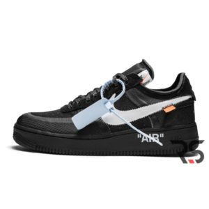 Кроссовки Nike Air Force 1 Low x Off-White «Black»