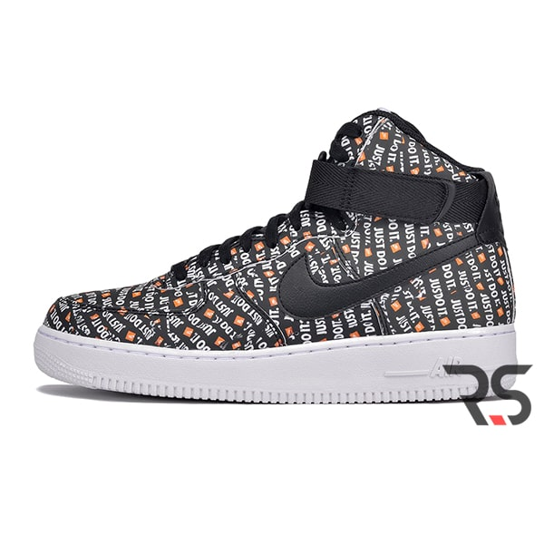 59b7225a Кроссовки Nike Air Force 1 High «Just Do It Pack Black» | Rovno ...