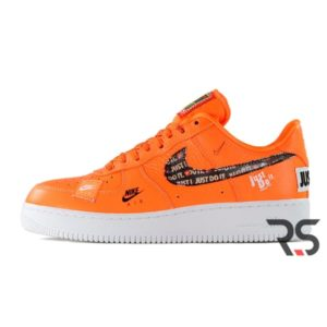 Кроссовки Nike Air Force 1 Low Just Do It «Orange»
