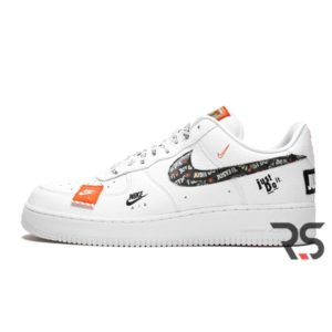 Кроссовки Nike Air Force 1 Low Just Do It «White»