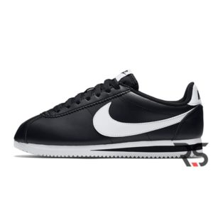 Кроссовки Nike Cortez Basic «Black/White»