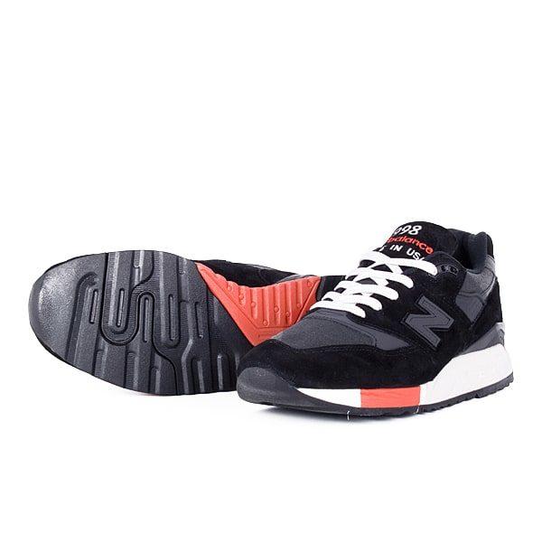 new arrival 2c022 1e184 Кроссовки New Balance 998 «Black/Red»
