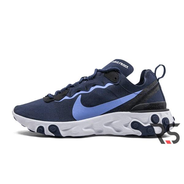 Кроссовки Nike React Element 55 «Midnight Navy»