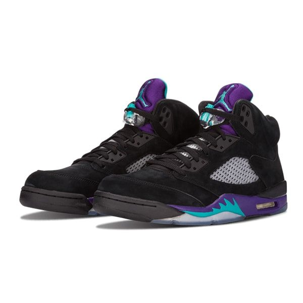Кроссовки Air Jordan 5 Retro «Black Grape»