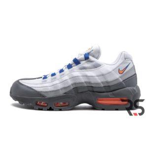 Кроссовки Nike Air Max 95 «Cool Grey/Total Orange/White»
