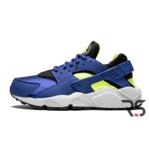 Женские кроссовки Nike Air Huarache Run «Royal Volt»