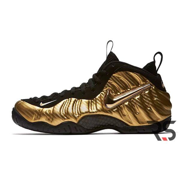 Кроссовки Nike Air Foamposite Pro «Metallic Gold»