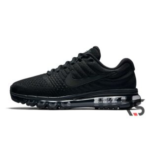 Nike Air Max 2017 Leather Black White Sneaker